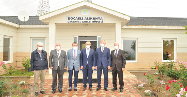 Kocaeli Valisi Seddar Yavuz, Kocaeli Alikahya OSB'yi ziyaret etti
